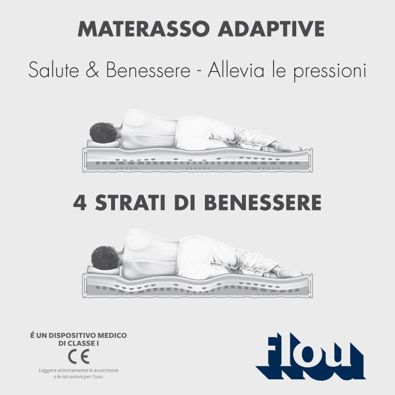 Flou Materassi Prezzi.Flou Materasso Adaptive Mobili Mariani