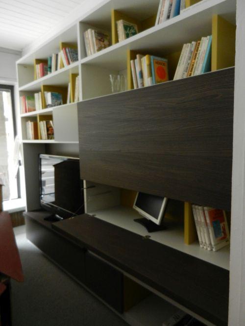 Molteni mod 505 libreria mobili mariani ivrea for Libreria molteni