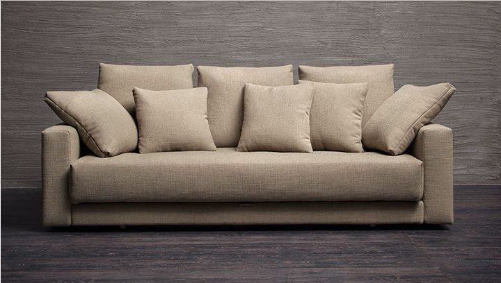 Flou piazza duomo divano letto mobili mariani - Divano letto flou ...