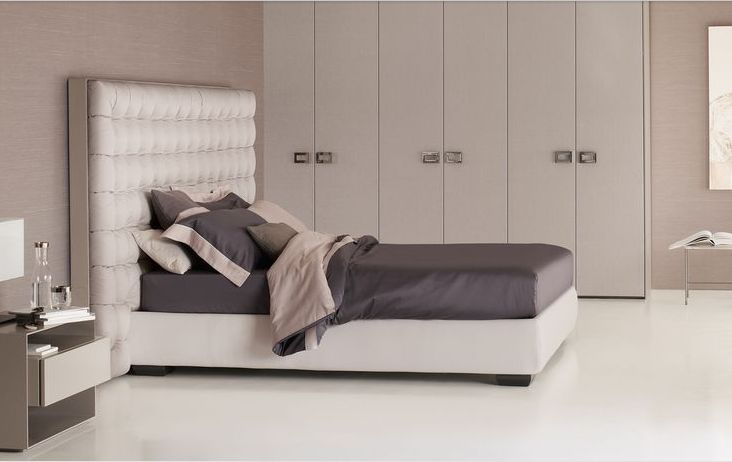 Flou letto sanya mobili mariani for Camere da letto flou