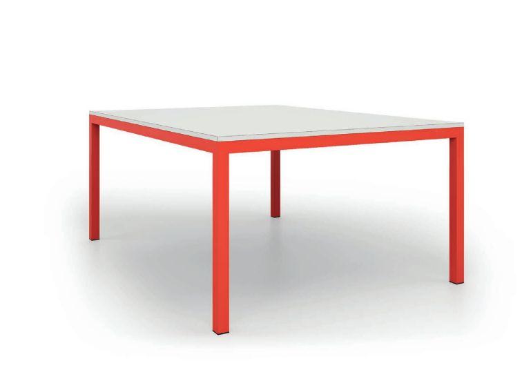 De rosso tavolo square mobili mariani - De rosso mobili ...