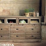 OLD WOOD CREDENZA LIQUIRIZIA