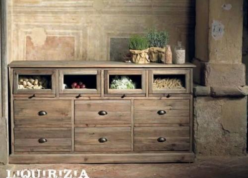 Mobili legno riciclato mobili mariani - Mobili per tv in legno ...