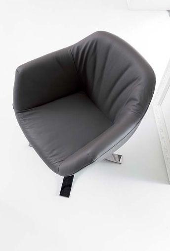 OZZIO PETIT FAUTEUIL NIGEL Mobili Mariani - Fauteuil design italien
