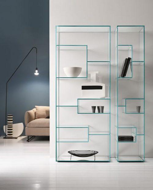 librerie vetro italiane design | Mobili Mariani