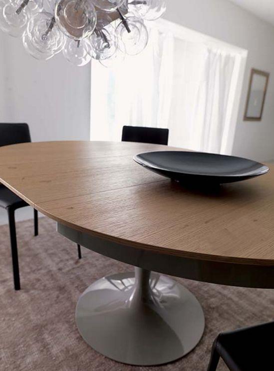 Tavolo Eclipse Di Ozzio Design.Ozzio Table Eclipse Bois Mobili Mariani