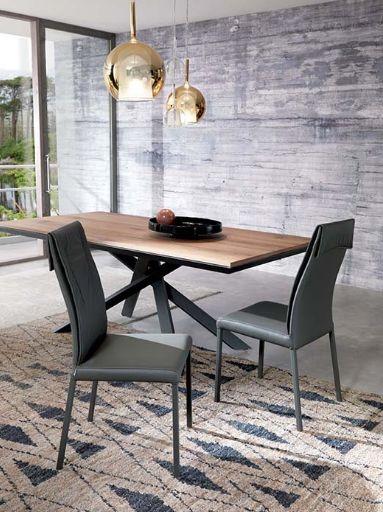 ozzio table 4x4 extensible | mobili mariani