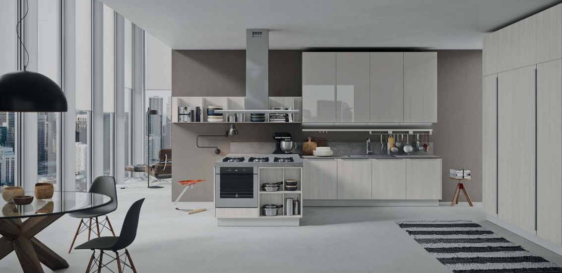 Copatlife sistema cucina 2 1 mobili mariani for Marioni arredamenti