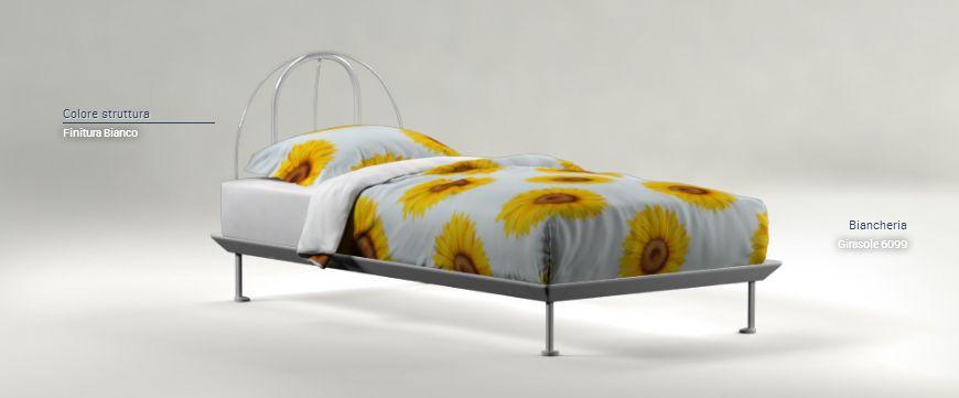 Flou letto singolo tappeto volante mobili mariani - Letto flou singolo ...