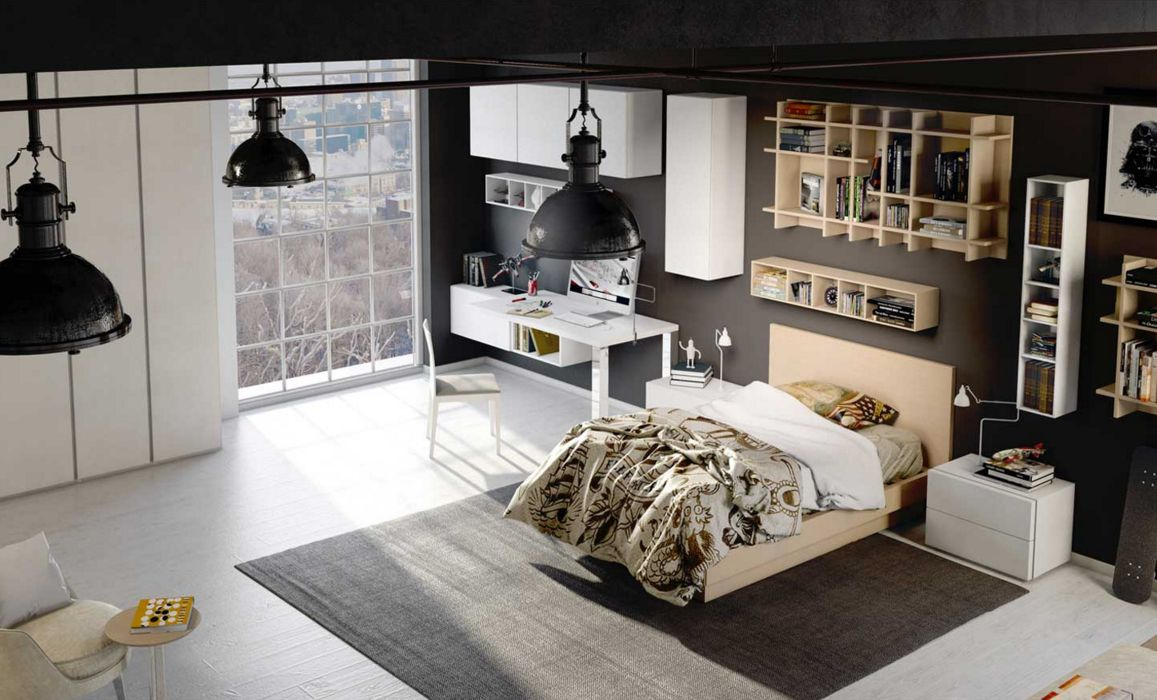 chambres d enfants mobili mariani. Black Bedroom Furniture Sets. Home Design Ideas