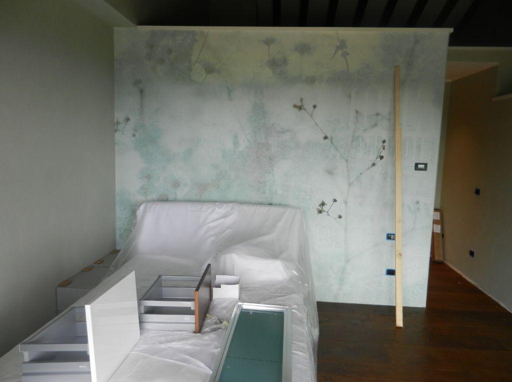 Progetto struttura camera letto con soppalco zona lavoro mobili mariani - Progetto letto a soppalco ...