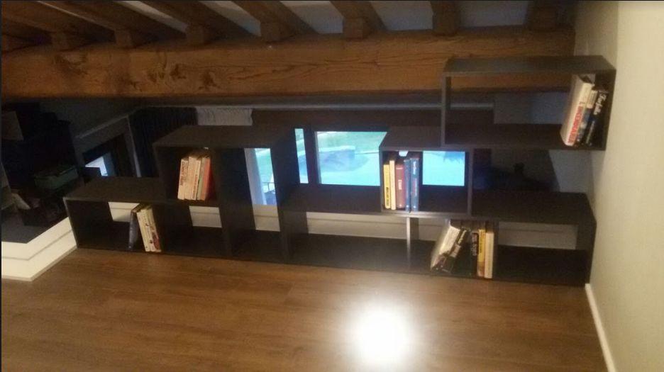 Progetto struttura camera letto con soppalco zona lavoro - Progetto camera ...