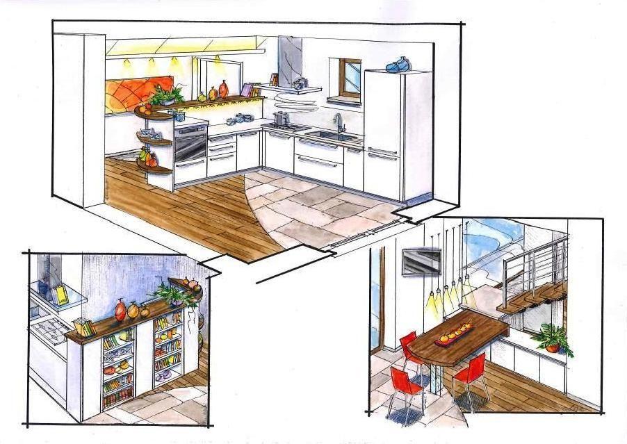 Cucina Progetto. Simple Project U Dua U Progetto Cucina Arrital Ak ...