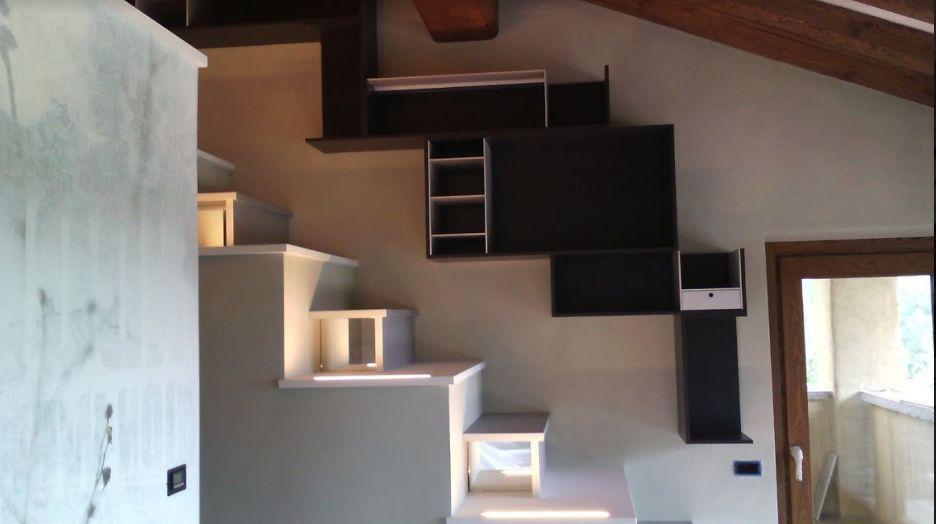 Estremamente progetto letto a soppalco vo73 pineglen - Progetto letto a soppalco ...