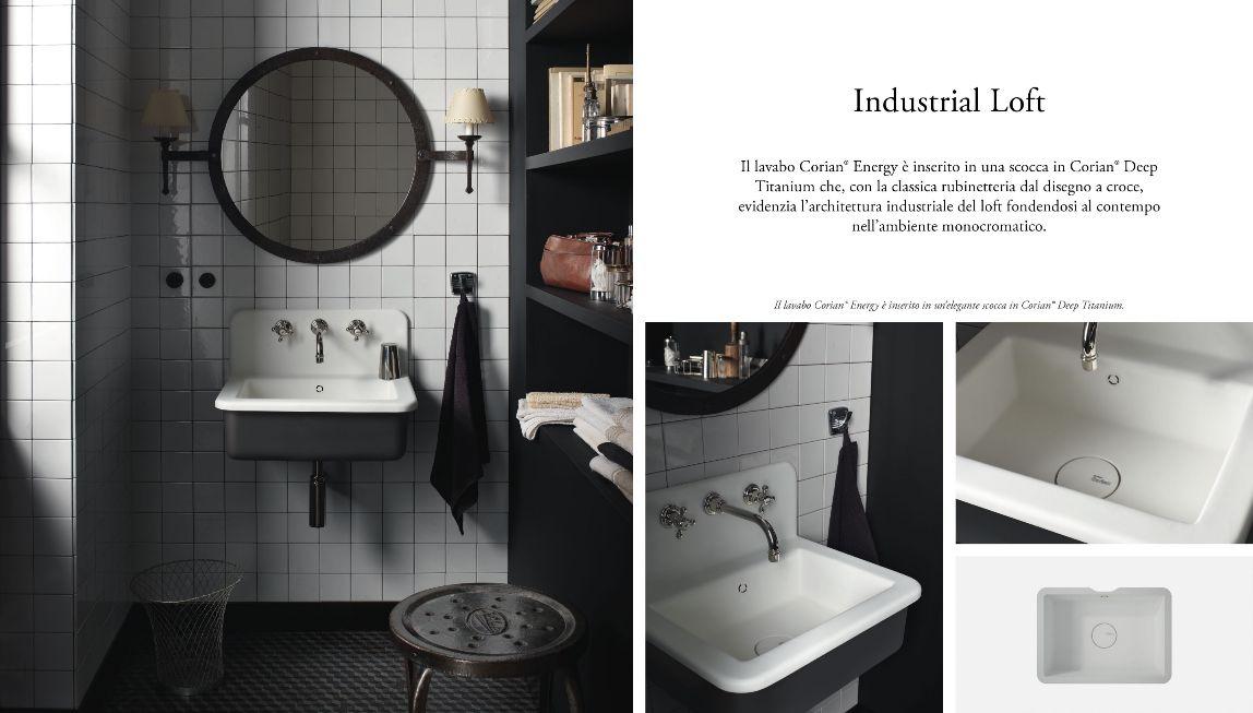 corian dupont lavabi bagno   mobili mariani - Lavabo Bagno In Corian Prezzi