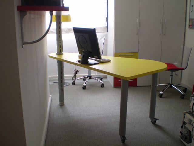 De rosso gruppo scrivania con cassettiera mobili mariani