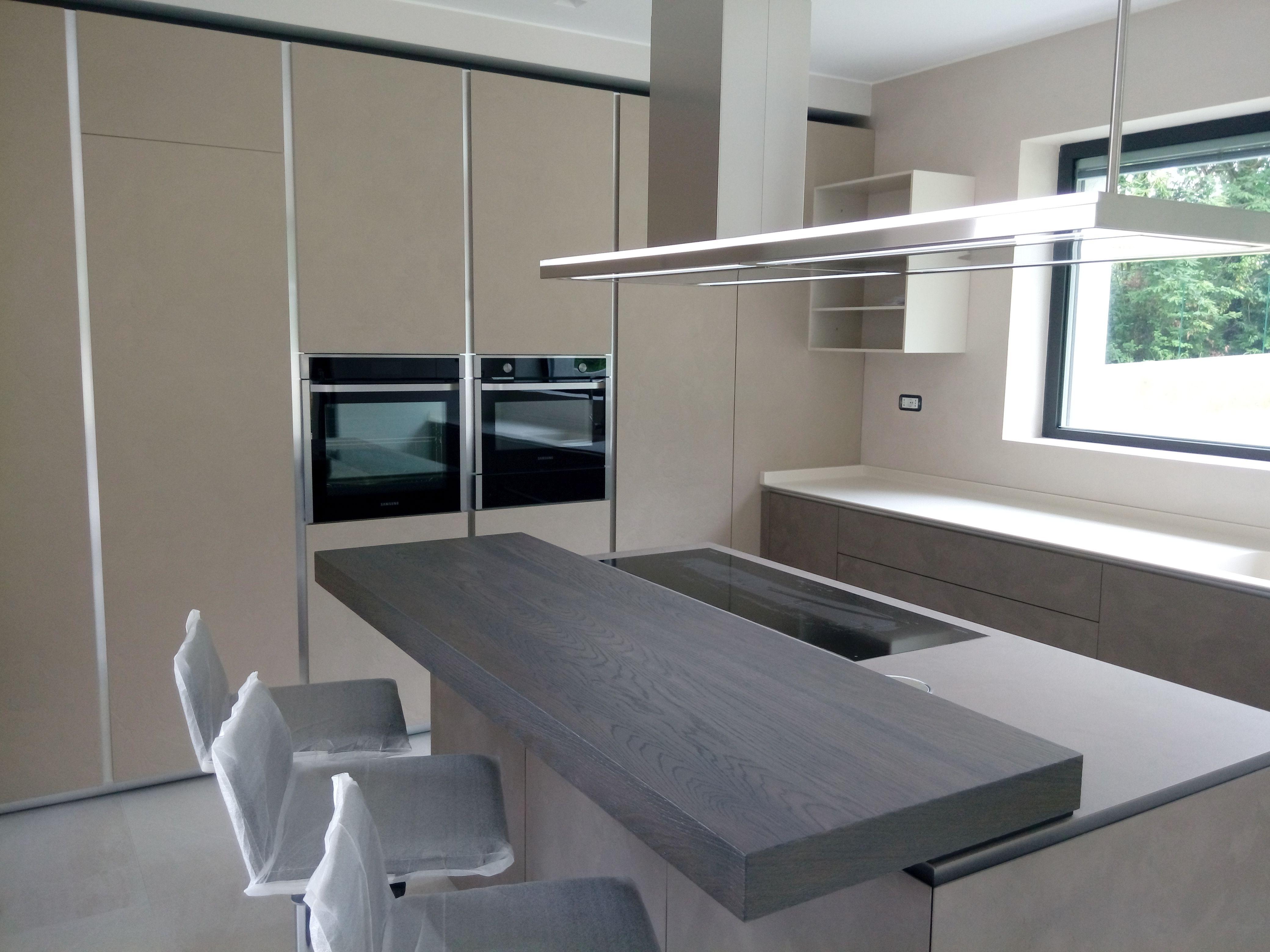 Progetto cucina ernestomeda obliqua in biomalta mobili mariani